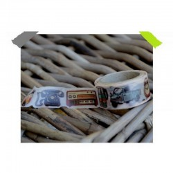 Washi páska - Barevné retro