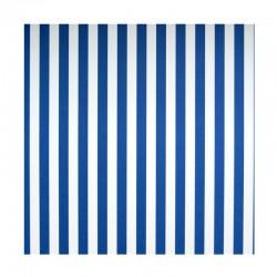 Papíry s proužky - Modro - bílé