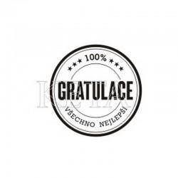 100% gratulace, všechno nejlepší