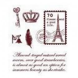 Razítka - Poštovní známka, Paříž....