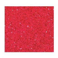 Prášek na embossing - červený - supertřpytivý - 10g