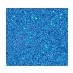 Prášek na embossing - modrý - supertřpytivý - 10g