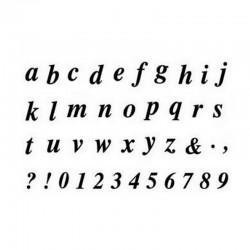 Razítka - Malá písmenka a čísla
