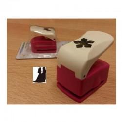 Raznice na papír - Ženich a nevěsta - 16mm