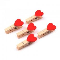 Mini dřevěné kolíčky