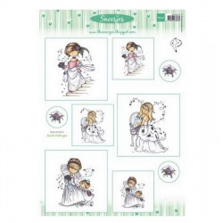 List A4 s obrázky - Snoesjes - Nevěsta