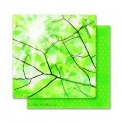 Papír - Oboustranný papír - Jarní sluníčko