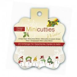 Mini bločky - 2ks - Vánoce