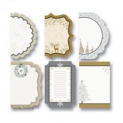 Designové papíry Cutties - zima