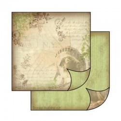 Oboustranný papír na scrapbooking - Socha svobody