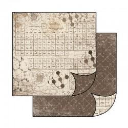 Oboustranný papír na scrapbooking - Chemické prvky