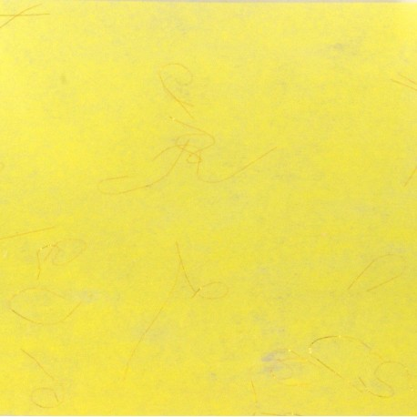 Hedvábný papír se zlatými nitkami