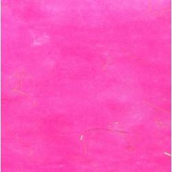 Hedvábný papír se zlatými nitkami - fialový