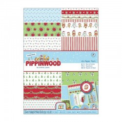 Sada papírů - Pippinwood Christmas - A5