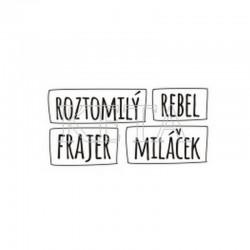 Roztomilý, frajer, miláček, rebel