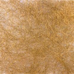 Sisalový papír - hnědý s třpytkami