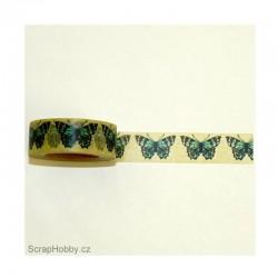 Washi páska - Vintage Motýlci II