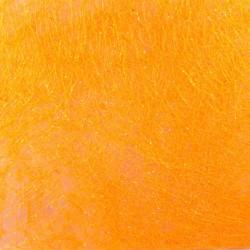 Sisalový papír - oranžový s třpytkami