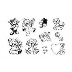 Razítka - Medvídci s mašlí