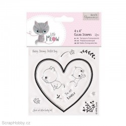 Transparentní razítko - Little Meow - You are Lovely.