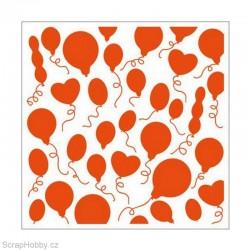 Embosovací kapsa - Balónky