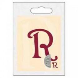 Pravolevé pečetidlo - Iniciály R
