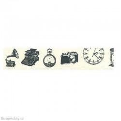 Washi páska - Vintage předměty