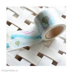 Washi páska - Balóny