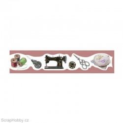 Washi páska - Šití