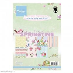 Sada papírů - A5 - Springtime - 32ks