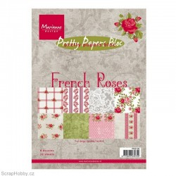 Sada papírů - A5 - French Roses - 32ks