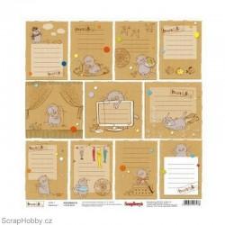 Jednostranný papír - Basic&K - Cards 1