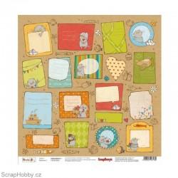 Jednostranný papír - Basic&K - Cards 2