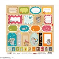 Jednostranný papír - Basic&K - Cards 3