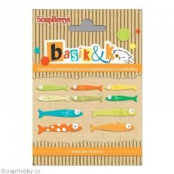 Sada hřebíčků - Klekce - Basic&K - Fishing 2