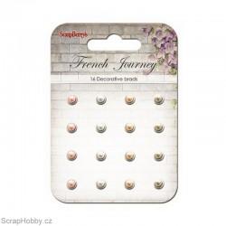 Sada hřebíčků - French Journey - Vintage s perličkou