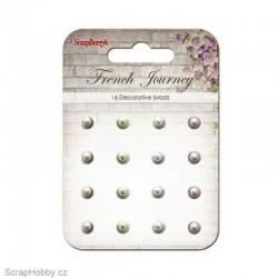 Sada hřebíčků - French Journey - Vintage s perličkou 2.