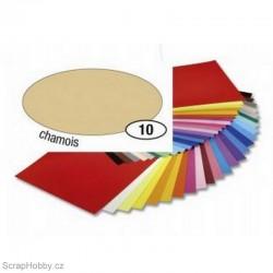 Jednobarvé papíry - Béžový - 130g - A4