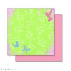 Oboustranný papír - Motýlci
