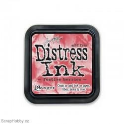 Razítkovací barvy - Distress Ink - Festive Berries