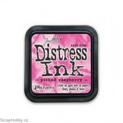 Razítkovací barvy - Distress Ink - Picked Raspberry