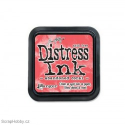 Razítkovací barvy - Distress Ink - Abandoned Coral