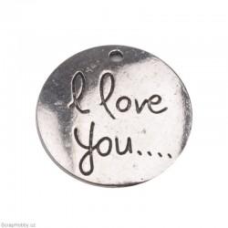 I love you - platina