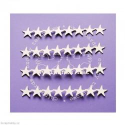 Bordurky - hvězdičky