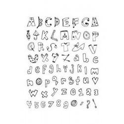 Scrapbooking - Razítka - Abeceda 2
