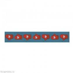 Washi páska - Rukavice - 8m x 15mm