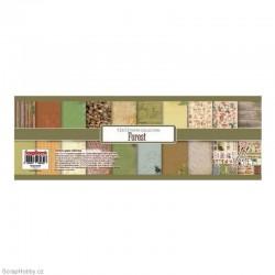 Sada papírů - Forest - 30x30cm