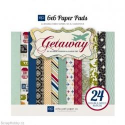 Sada papírů - Getaway - 15x15cm