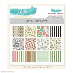 Sada papírů - Mint Julep Paper - 15x15cm