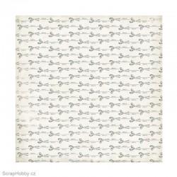 Oboustranný papír - Trim Marks - kolekce Sew Lovely